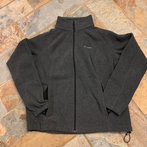 Charcoal Columbia Fleece